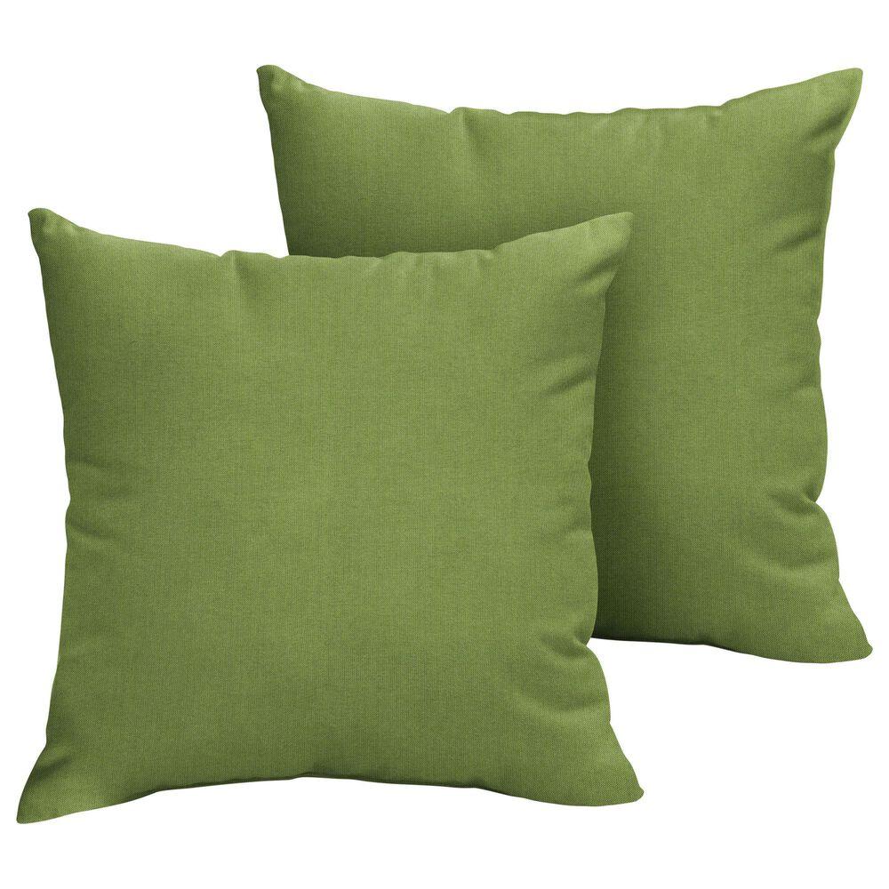 """Sorra Home Sunbrella 18"""" Pillow in Spectrum Cilantro (Set of 2), , large"""
