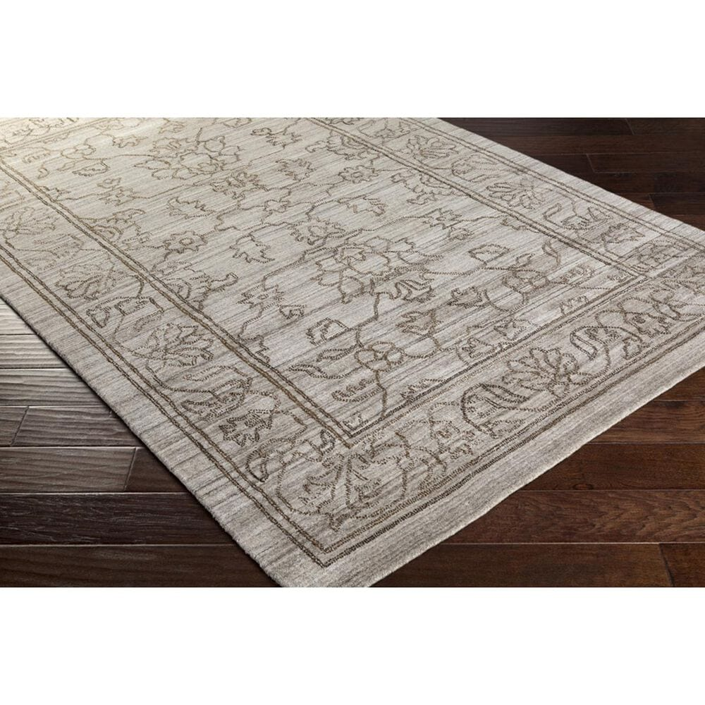 Surya Hightower HTW-3003 8' x 10' Gray, Camel and Brown Area Rug, , large