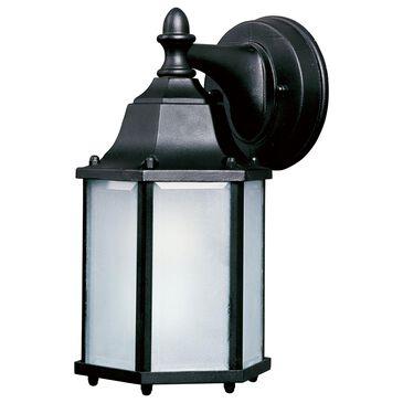 "Maxim Lighting Builder Cast 10"" LED 1-Light Outdoor Wall Mount in Black, , large"