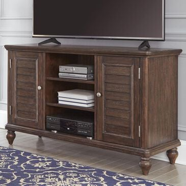 Home Styles Southport Entertainment Center in Distressed Oak, , large