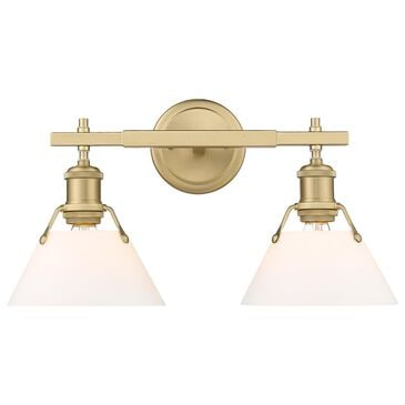 Golden Lighting Orwell 2-Light Bath Vanity in Brushed Champagne Bronze, , large