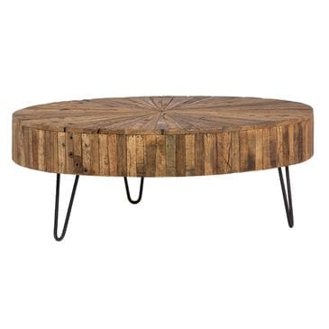 Blue Sun Designs Coffee Table in Distressed Brown, , large