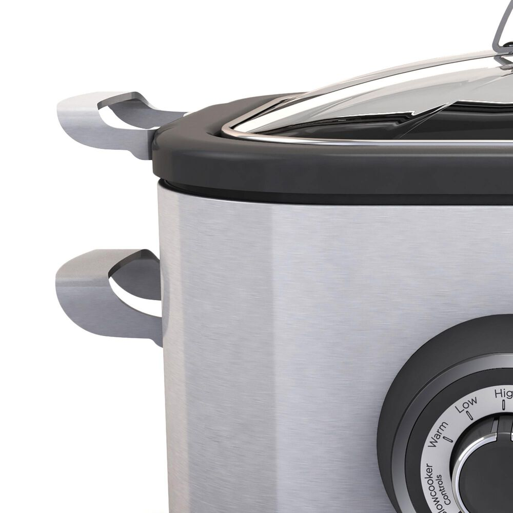 Black and Decker 6.5-Quart Multicooker in Stainless Steel, , large