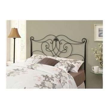 Monarch Specialties Queen/Full Headboard or Footboard Only in Satin Black, , large