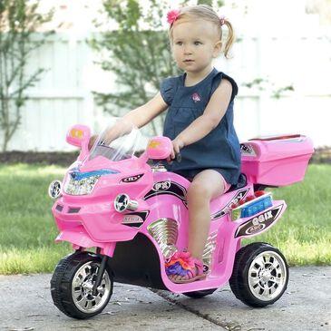 "Timberlake Lil"" Rider 3 Wheel Battery Powered FX Sport Bike in Pink, , large"