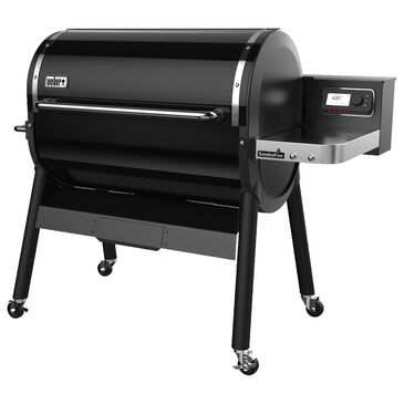 Weber SmokeFire EX6 Wood Fire Pellet Grill in Black, , large