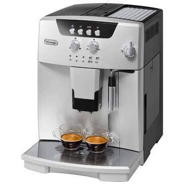 Delonghi Magnifica Automatic Espresso Machine in Silver, , large