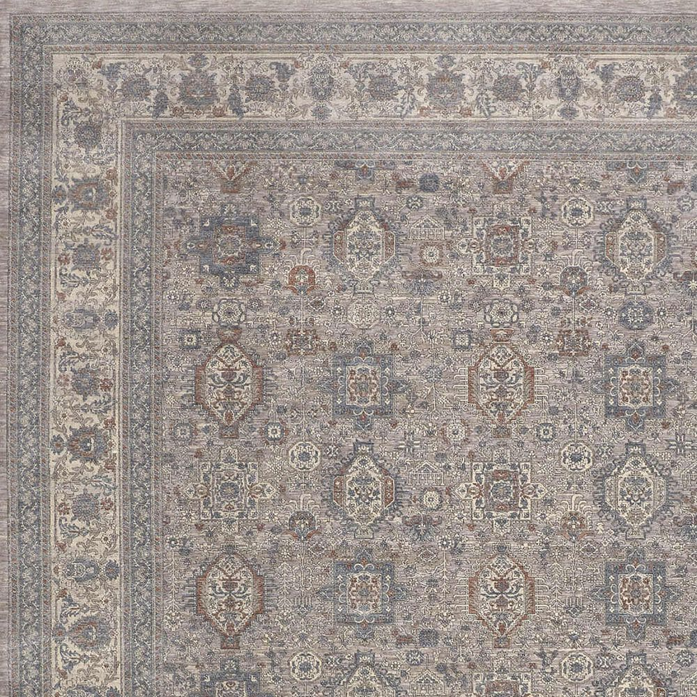 """Feizy Rugs Marquette 3761F 4' x 5'3"""" Gray Area Rug, , large"""
