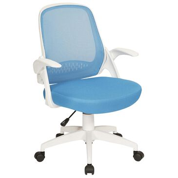 OSP Home Jackson Office Chair in Blue, , large