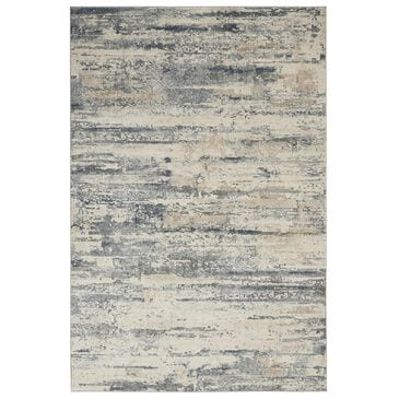 "Nourison Rustic Textures RUS04 2'2"" x 7'6"" Beige and Grey Runner, , large"