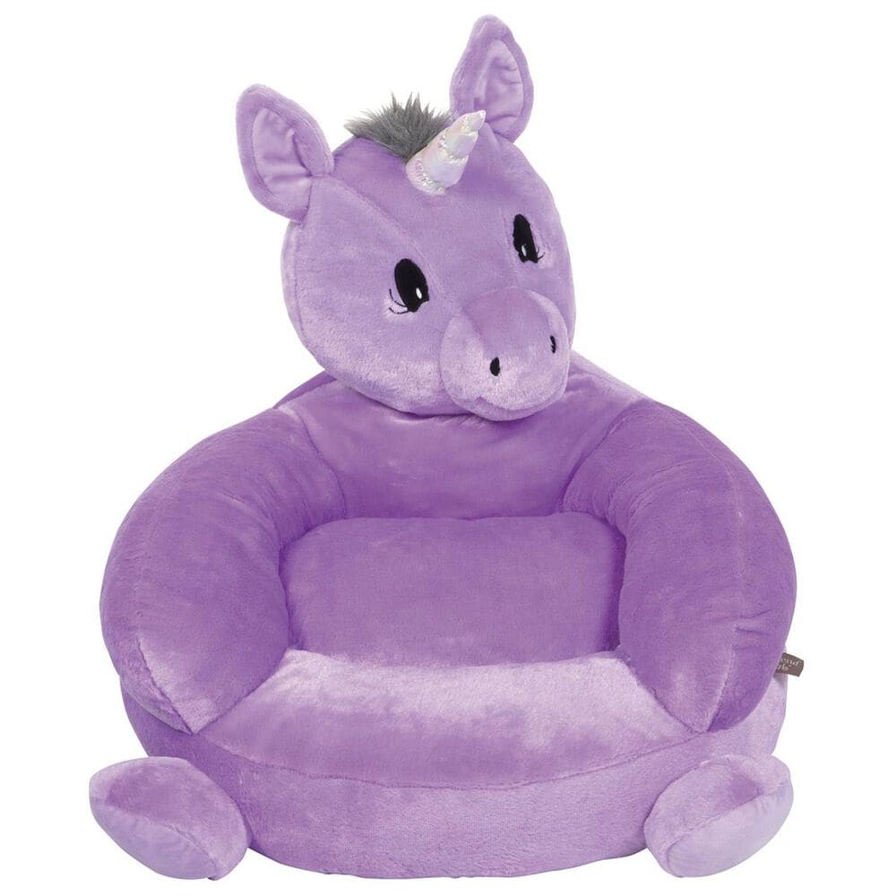 Trend Labs Children's Plush Unicorn Character Chair, , large