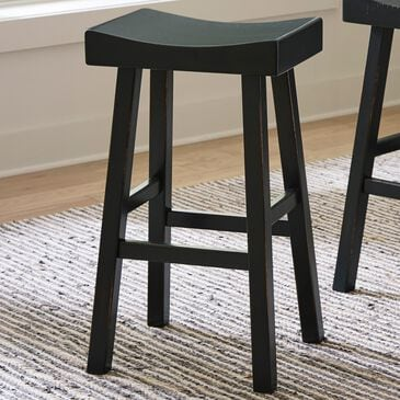 Signature Design by Ashley Glosco Tall Stool in Antique Black, , large
