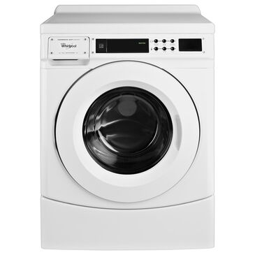 "Whirlpool 27"" Front Load Washer in White, , large"