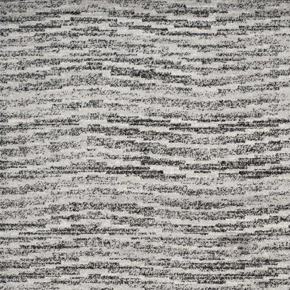 "Safavieh Adirondack ADR117A 5'1"" x 7'6"" Black and Silver Area Rug, , large"