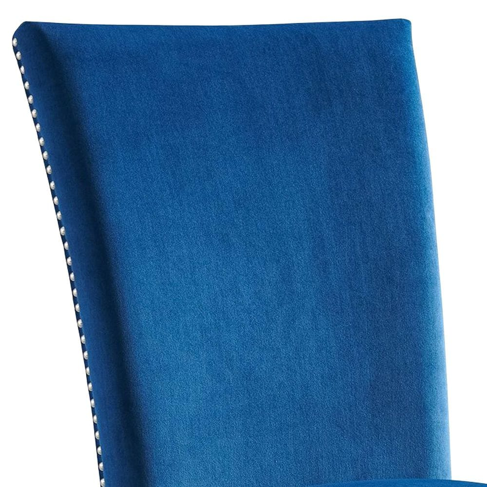 Mayberry Hill Francesca Side Chair in Blue Velvet, , large