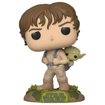 Funko Pop Star Wars Luke Skywalker and Yoda, , large
