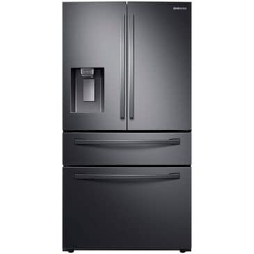 Samsung Counter Depth 4-Door French Door with Twin Cooling Plus in Black Stainless Steel , , large