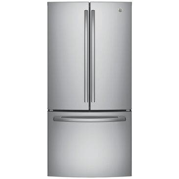 GE Appliances 18.6 Cu. Ft. Counter-Depth French-Door Refrigerator in Stainless Steel , , large
