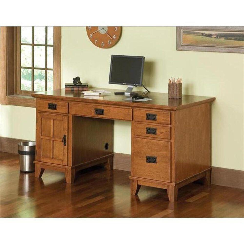 Home Styles Secretary Desk, , large
