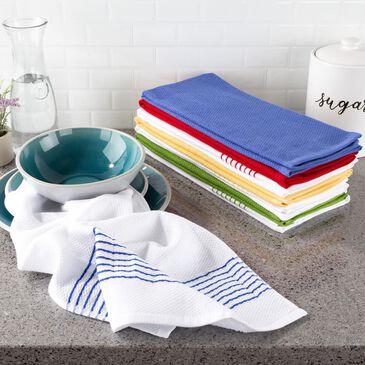 Timberlake Lavish Home Kitchen Towel Set of 8 Multi Colored , , large