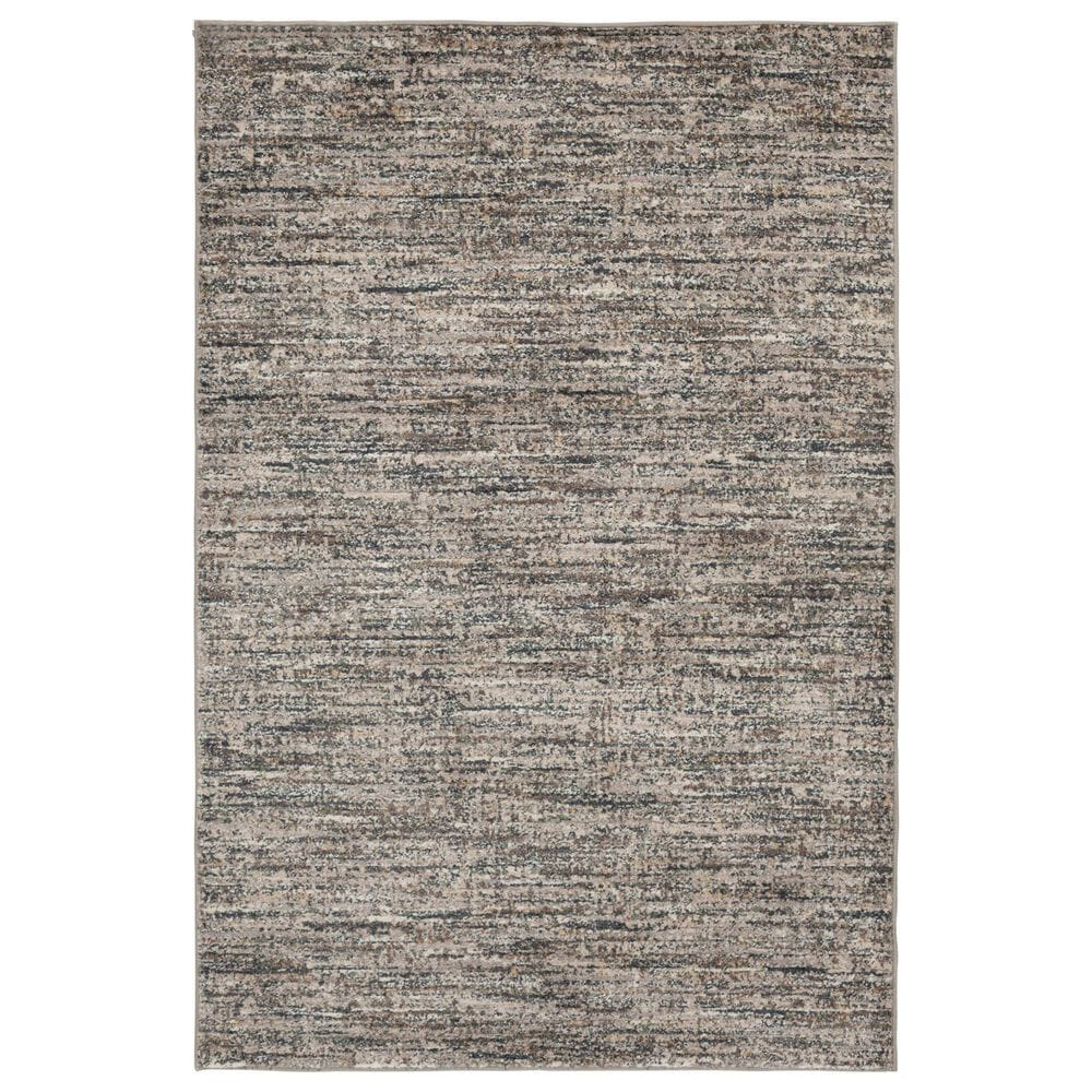 Central Oriental Minerva Mitch 7209STV 5' x 7' Storm and Vintage Blue Area Rug, , large