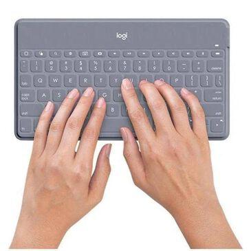 Logitech Keys-To-Go Wireless Keyboard in Stone, , large