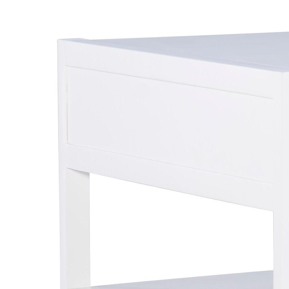 Linden Boulevard Perdita Coffee Table in White, , large