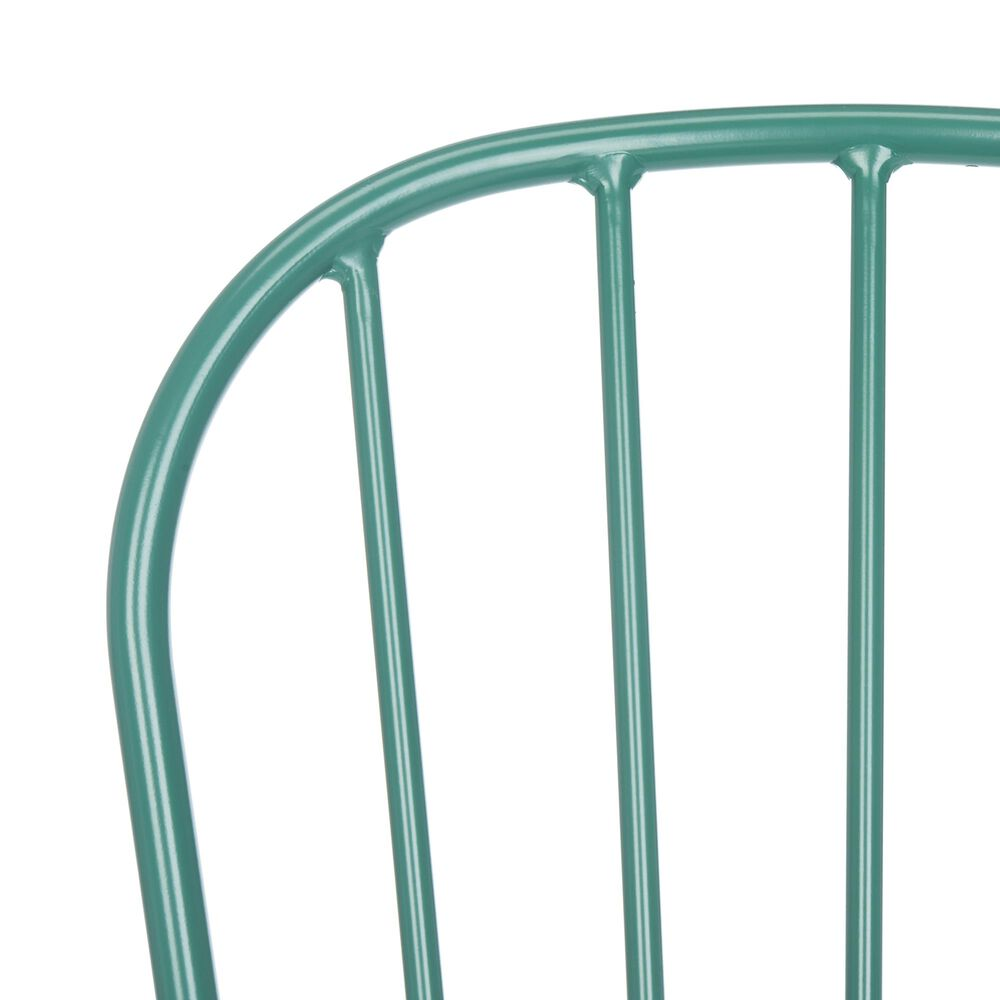 Safavieh Everleigh Stackable Side Chair in Olive Green, , large