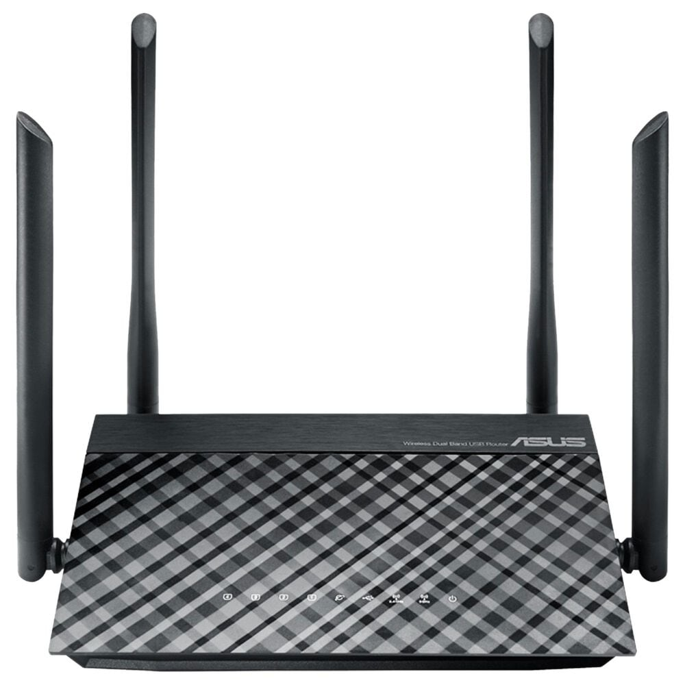 ASUS AC1200 Dual-band 2x2 Wifi 4-Port Router, , large