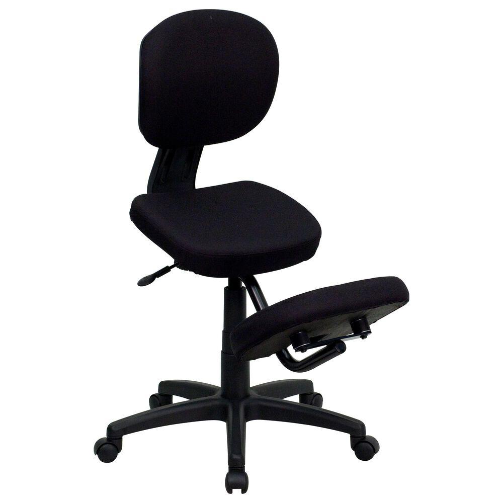 Flash Furniture Kneeling Office Chair WIN-2375 in Black , , large