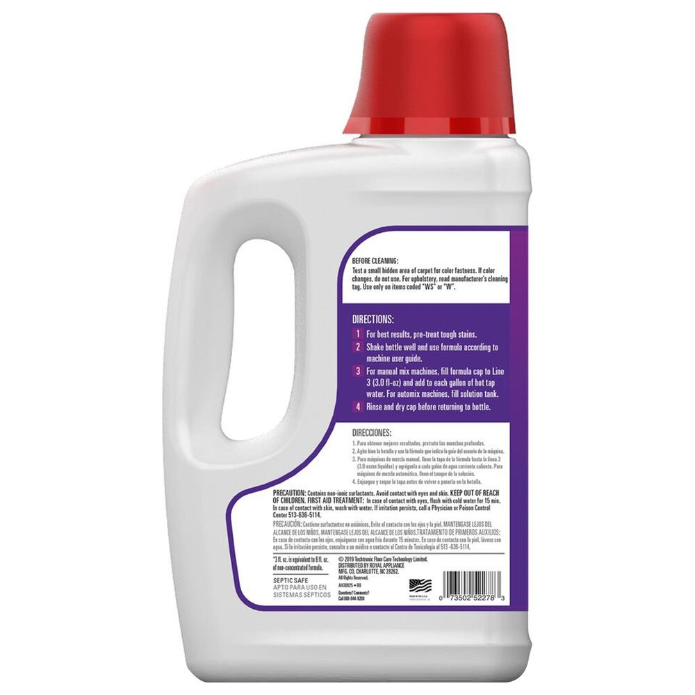 Hoover Paws and Claws Carpet Cleaning Formula with Stainguard 64 Oz, , large