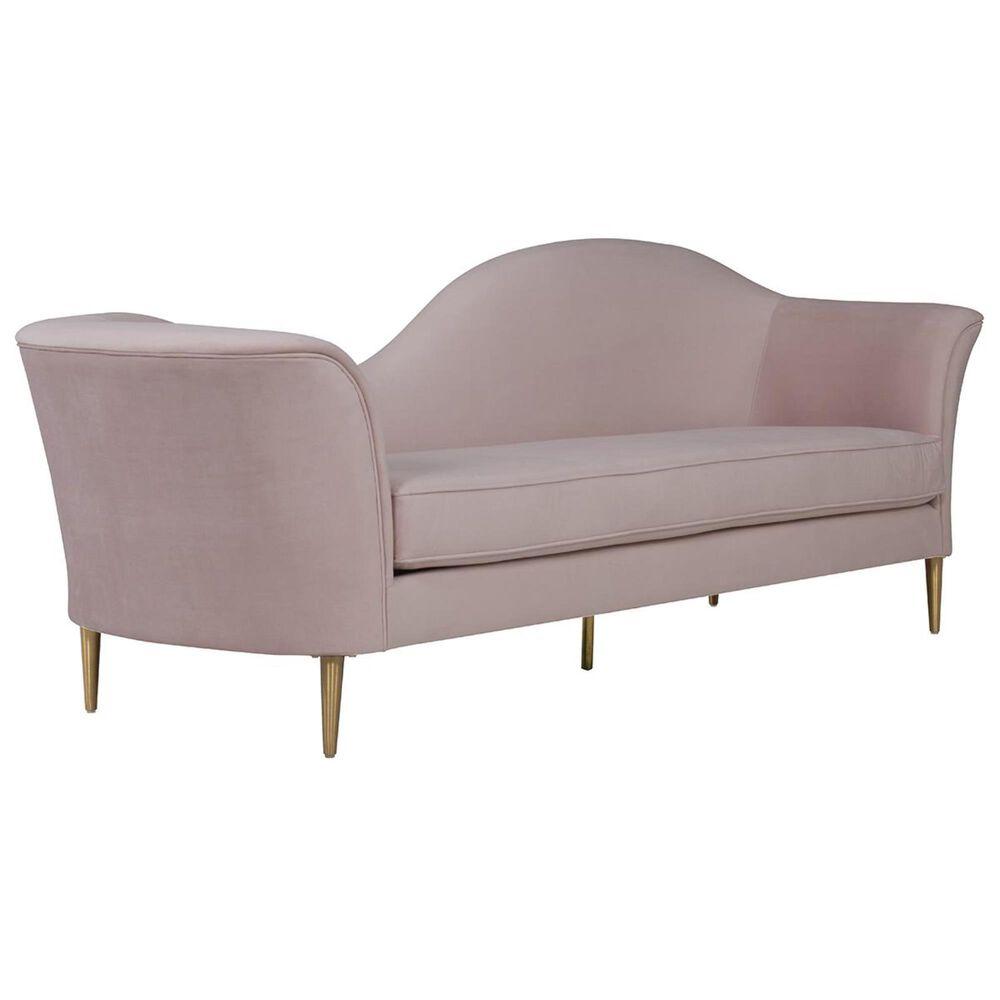 Tov Furniture Plato Sofa in Blush Velvet, , large