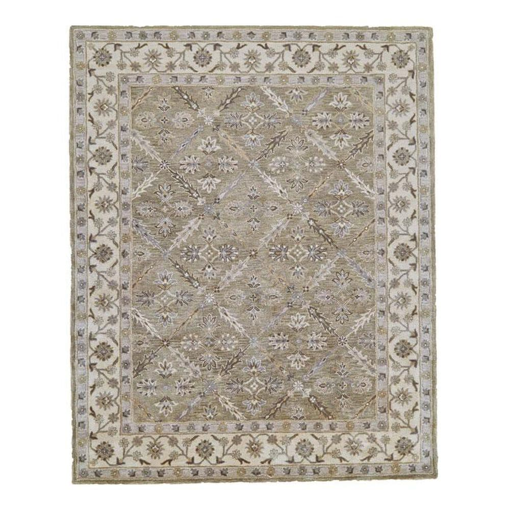 Feizy Rugs Eaton 8424F 2'6'' x 10' Sage Runner, , large