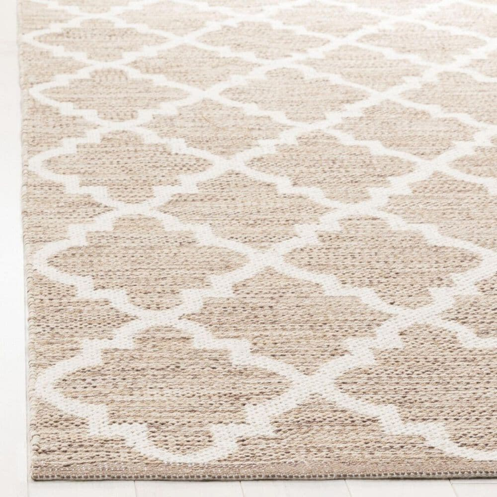 Safavieh Montauk MTK810  5' x 8' Beige and Ivory Area Rug, , large