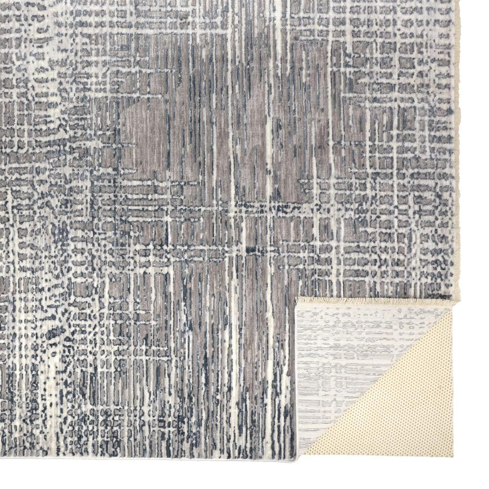 Feizy Rugs Kyra 5' x 7' Gray and Beige Area Rug, , large