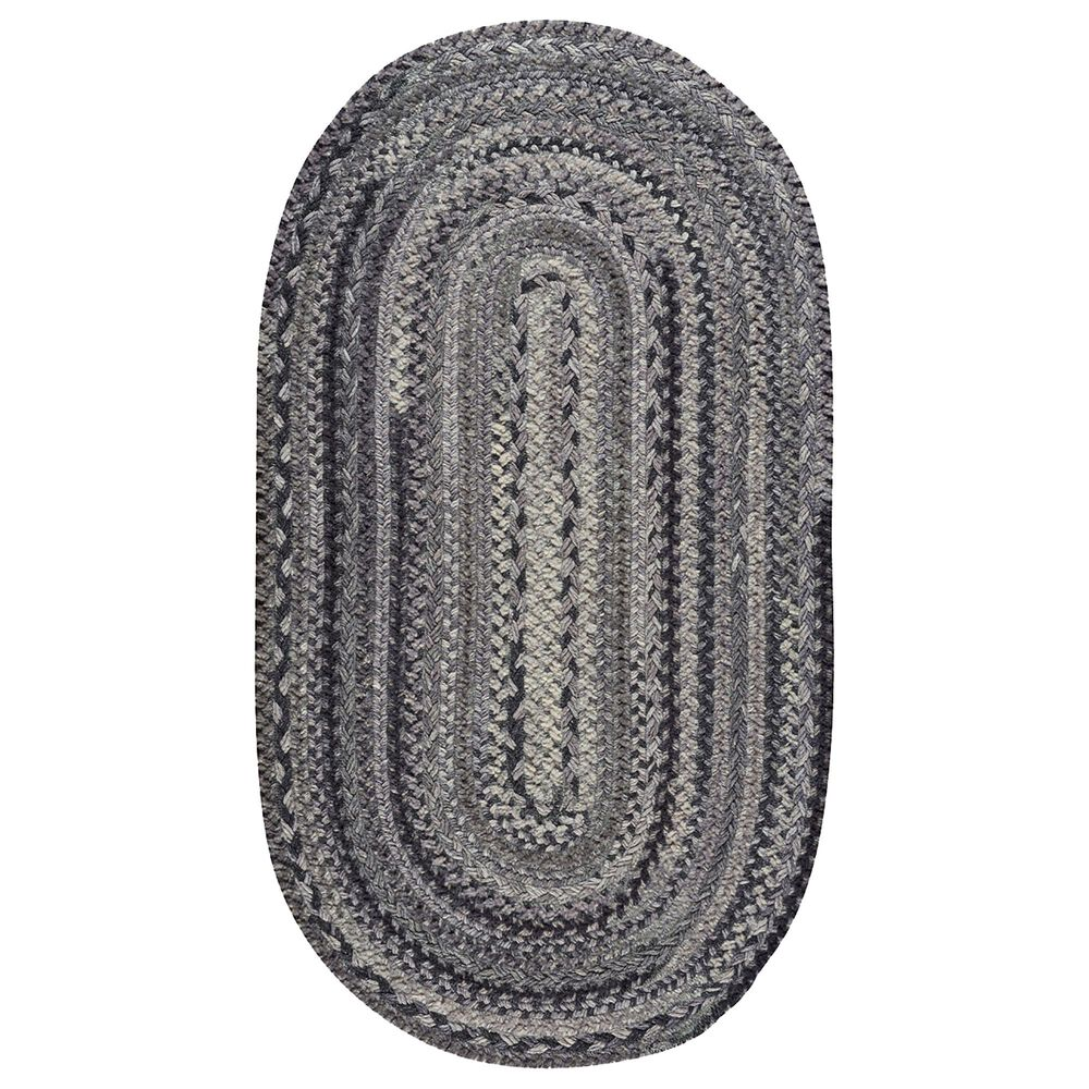 """Capel Bayview 0036-345 2'3"""" x 4' Oval Metal Area Rug, , large"""