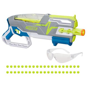 Nerf Hyper Siege 50 Pump-Action Blaster and 40 Hyper Rounds, , large