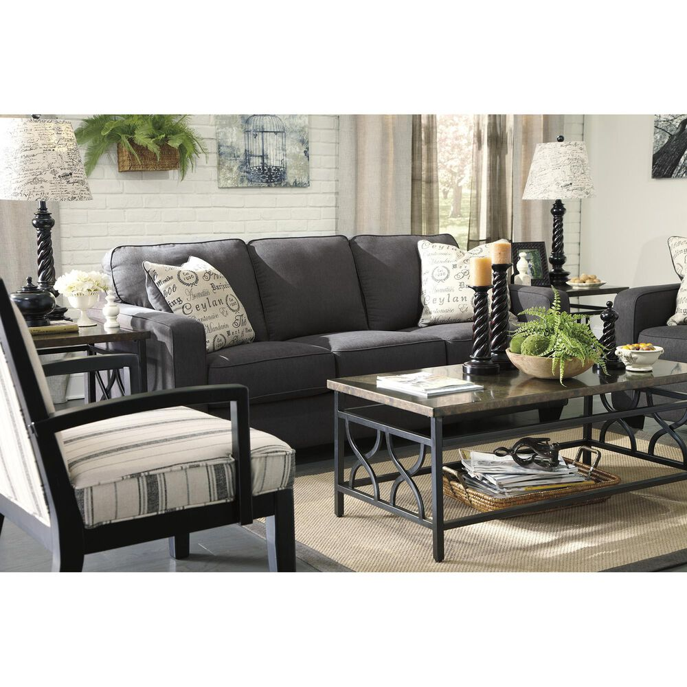 Signature Design by Ashley Alenya Sofa in Charcoal, , large