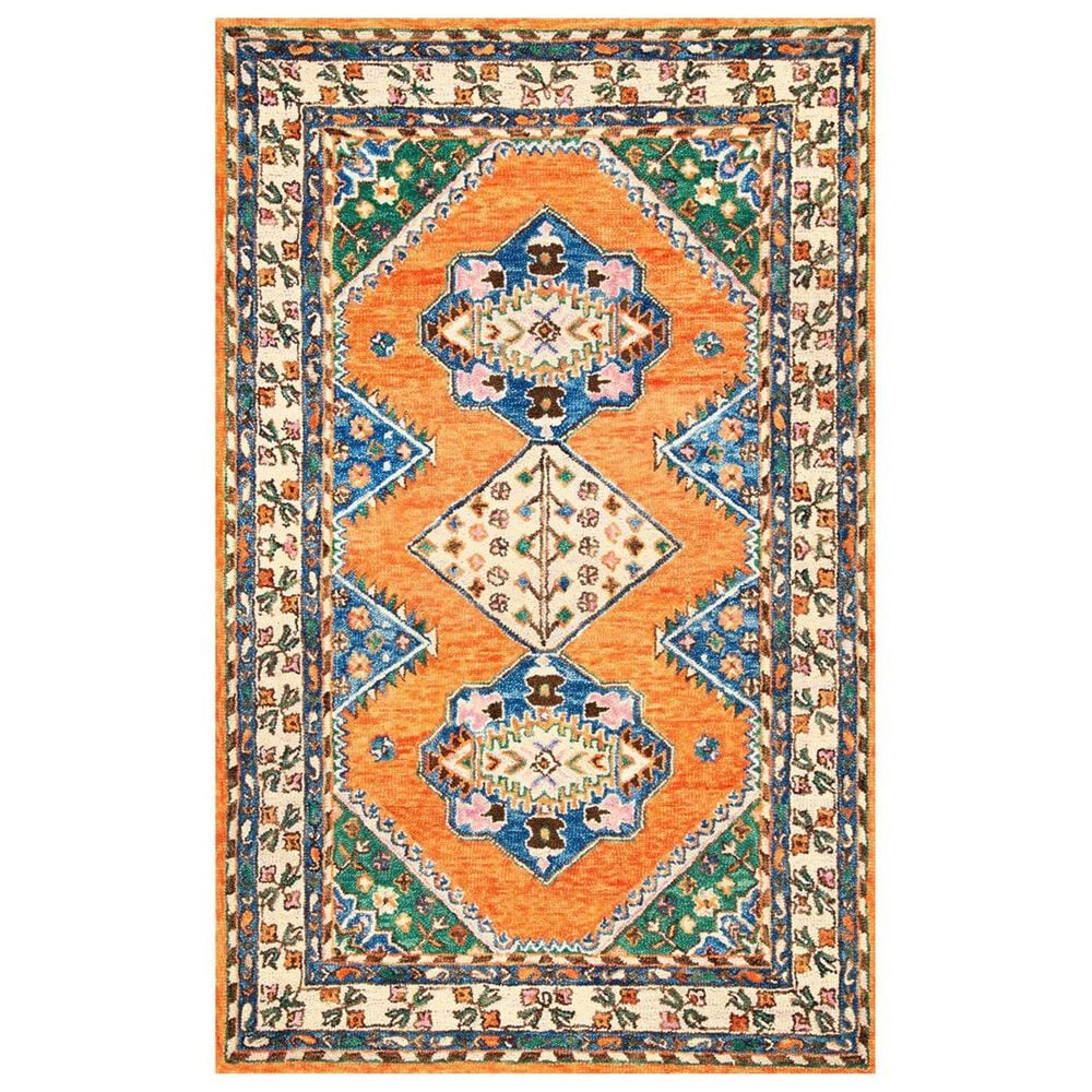 "nuLOOM Shanti MJSH01A 7'7"" x 9'6"" Orange Area Rug, , large"