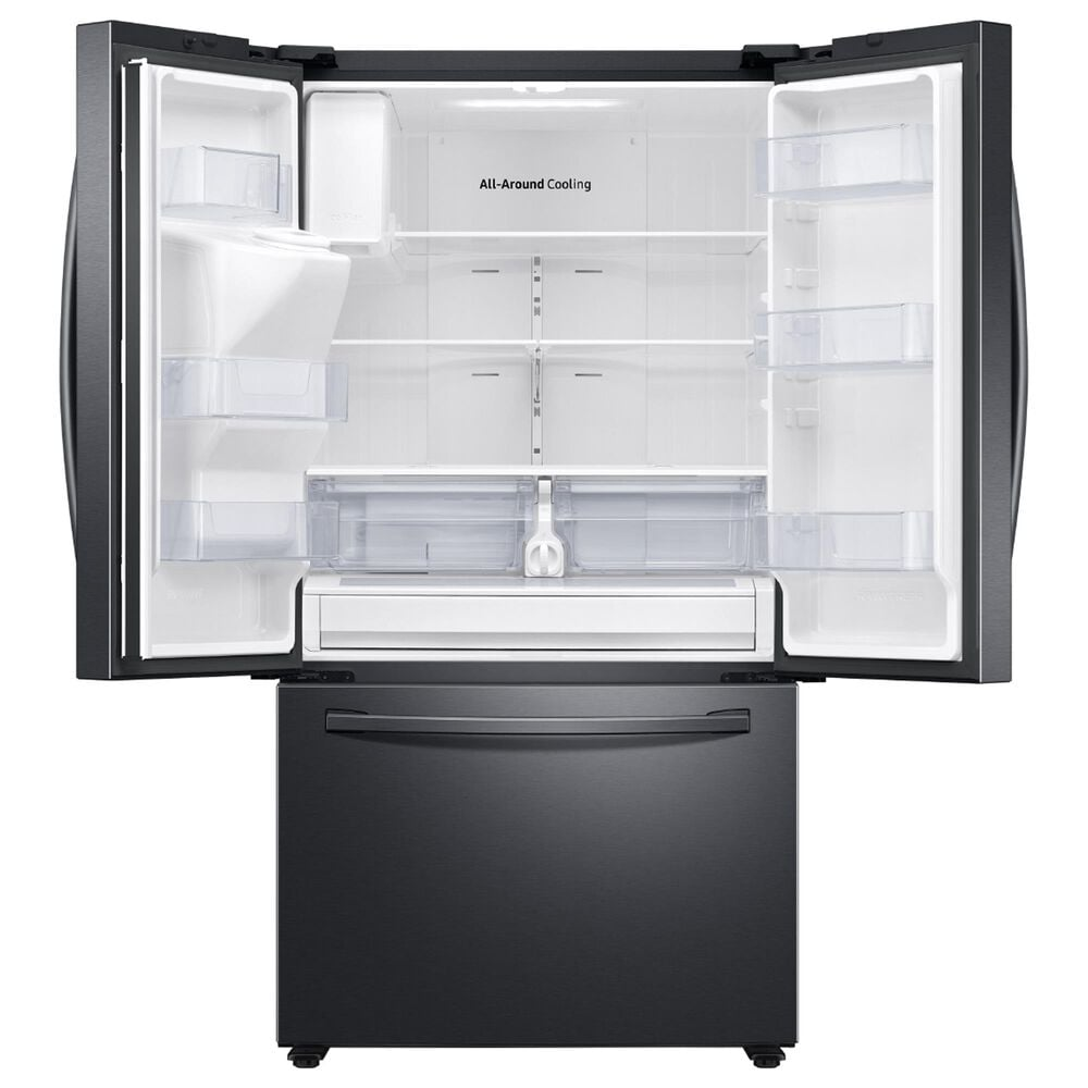 Samsung 26.5 Cu. Ft. French Door Refrigerator in Black Stainless Steel, , large