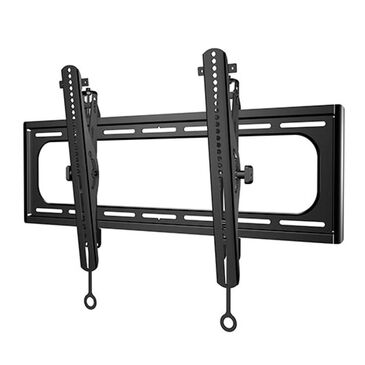 "Sanus Premium Extra Large Tilt Wall Mount for 40""- 110"" TVs in Brushed Black Stainless, , large"