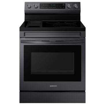 Samsung 6.3 Cu. Ft. Freestanding Electric Range with Air Fry, Wi-Fi and Griddle in Black Stainless Steel, , large
