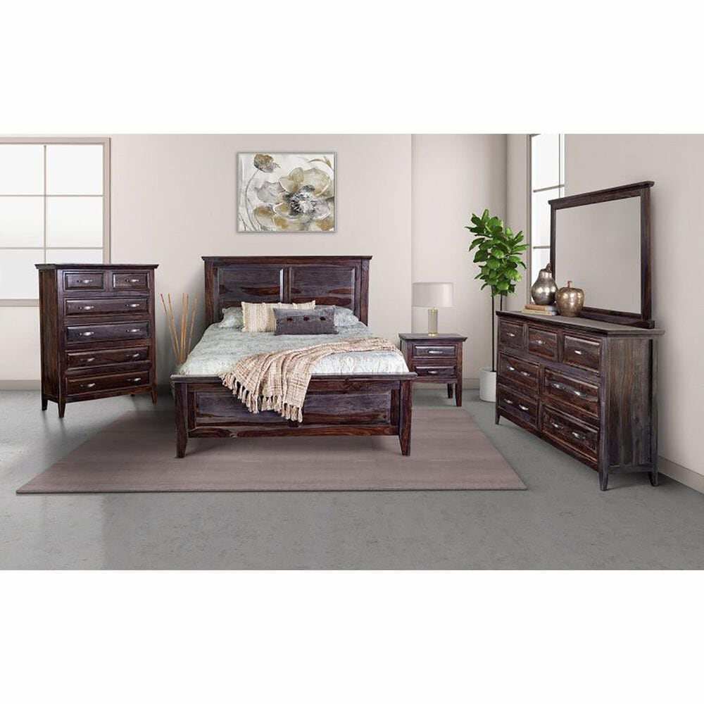 Porter Design Sonora 4 Piece King Bedroom Set in Midnight, , large