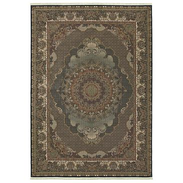 "Oriental Weavers Masterpiece 5330B 2'3"" x 10' Blue Runner, , large"