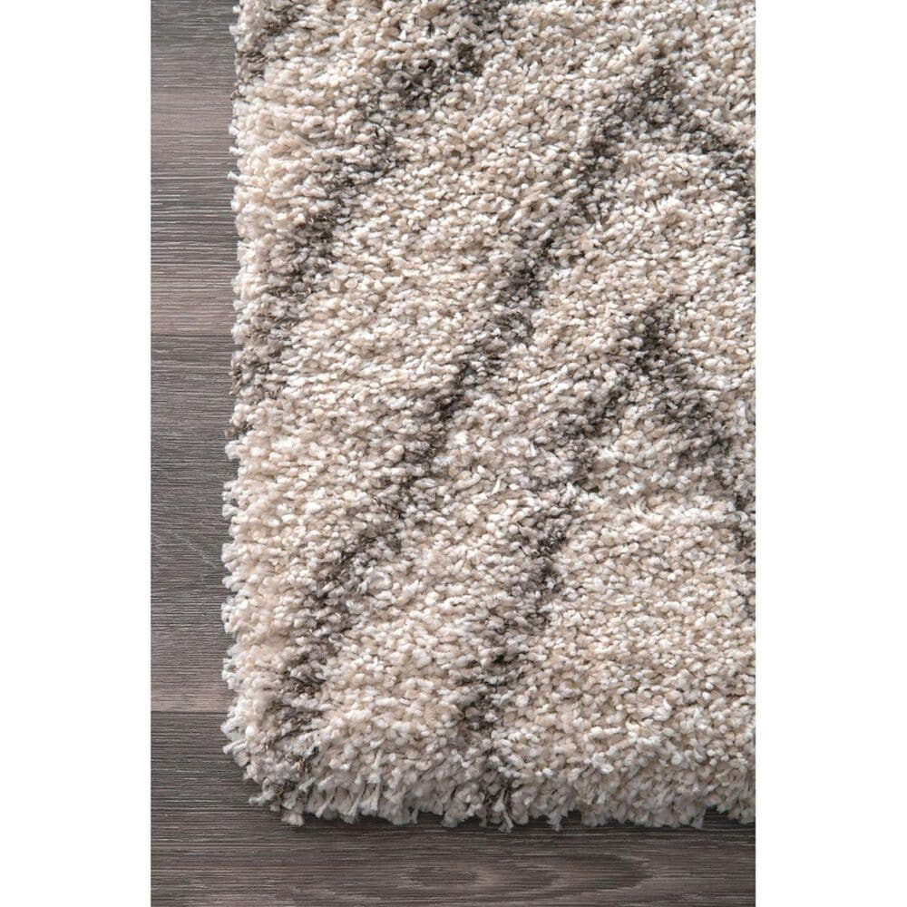 nuLOOM Sahara MLSH05A 4' x 6' Ivory Area Rug, , large