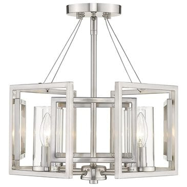 Golden Lighting Marco 4-Light Pendant in Pewter, , large
