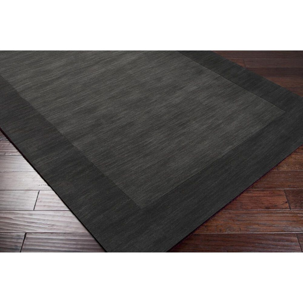 Surya Mystique M-347 6' x 9' Charcoal and Black Area Rug, , large