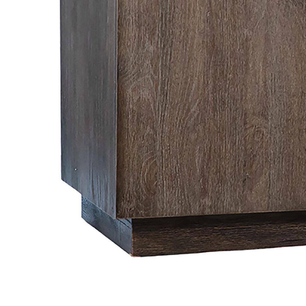 Blue Sun Designs Scotch 4-Door Sideboard in Brown/Grey, , large