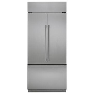 "Monogram 36"" Built-In Counter Depth French Door Refrigerator in Stainless Steel, , large"