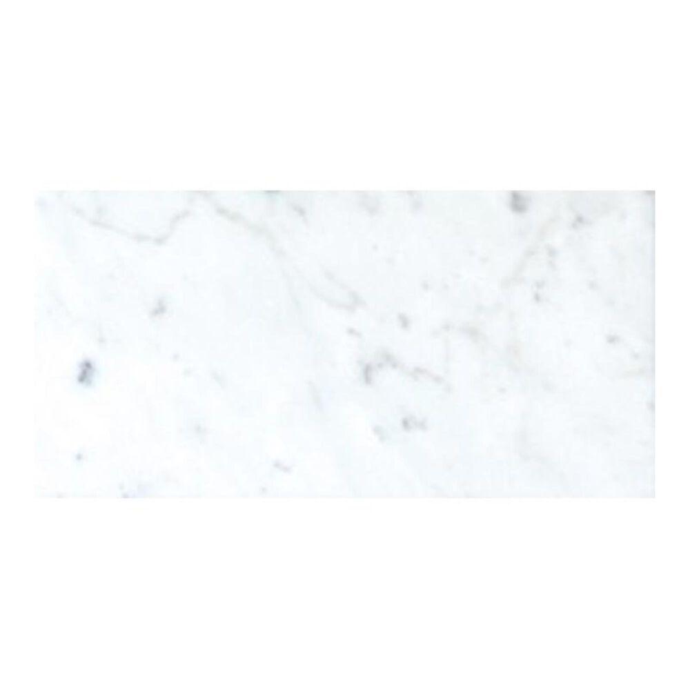 "MS International Carrara White 6"" x 12"" Polished Natural Stone Mosaic Sheet, , large"
